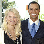 Tiger Woods and his wife.